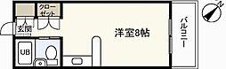 petit pas祇園[3階]の間取り