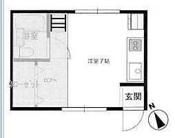 [一戸建] 神奈川県横浜市中区西之谷町 の賃貸【/】の間取り