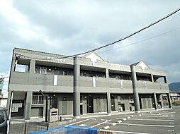 福岡県北九州市小倉南区下石田1丁目の賃貸アパートの外観
