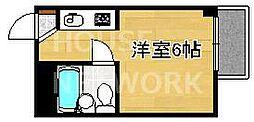 コーポたくみ[402号室号室]の間取り