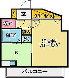 ドリームK[2階]の間取り