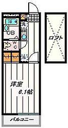 埼玉県さいたま市桜区中島2丁目の賃貸マンションの間取り