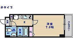 FDS KOHAMA WEST[7階]の間取り