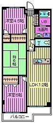 エソール・戸田22[305号室]の間取り