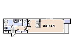 グランデ・アニュー[4階]の間取り