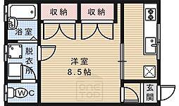 [一戸建] 京都府京都市左京区吉田下阿達町 の賃貸【/】の間取り
