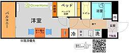 神奈川県相模原市南区下溝の賃貸マンションの間取り