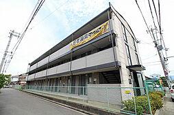 大阪府泉佐野市南中安松の賃貸マンションの外観