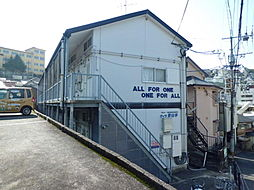 長崎県長崎市下町の賃貸アパートの外観