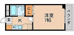 ランタナ[2階]の間取り