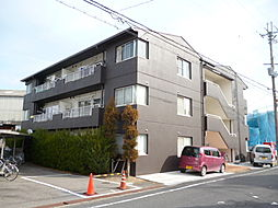 滋賀県甲賀市水口町神明の賃貸マンションの外観