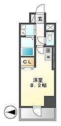 ベレーサ築地口ステーションタワー[9階]の間取り