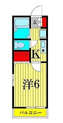 ハイツセイホIII[1階]の間取り