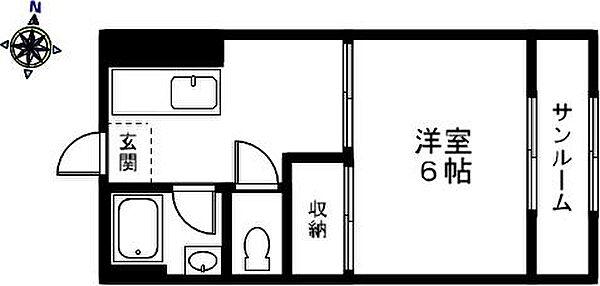 サワダビル[602号室]の外観