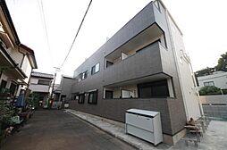 東京都世田谷区代沢5丁目の賃貸アパートの外観