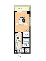 小野ビル[203号室]の間取り