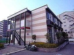 大阪府四條畷市岡山4丁目の賃貸アパートの外観