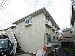 東京都町田市中町3の賃貸アパートの外観