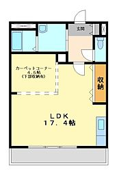 エーデルハイムIII[2階]の間取り