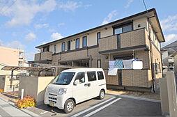 大阪府八尾市本町3丁目の賃貸アパートの外観
