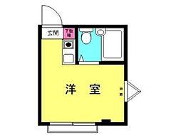 植野ビル[3階]の間取り