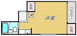 永和第三ビル[5階]の間取り