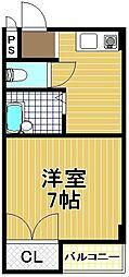日伸第3マンション[5階]の間取り