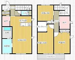 エンゼルハイム6号館[2階]の間取り