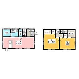 [一戸建] 群馬県前橋市城東町5丁目 の賃貸【/】の間取り