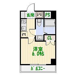 ライジングプレイス綾瀬三番館[5階]の間取り