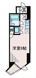 ドミトリー原町田[6階]の間取り