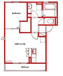 エムハウス[3階]の間取り