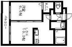 シャトーソレイユ[4階]の間取り