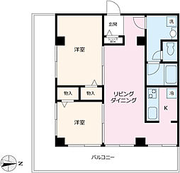 R3kawagoe[3F-A号室]の間取り