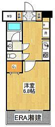 コフレ横浜星川[306号室]の間取り