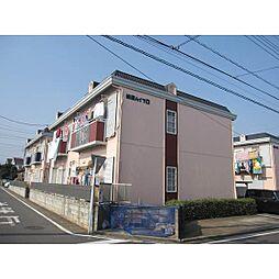 埼玉県ふじみ野市亀久保4丁目の賃貸アパートの外観