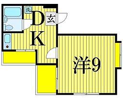 東京都足立区竹の塚6丁目の賃貸マンションの間取り