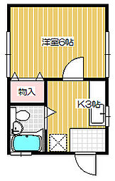 [一戸建] 新潟県新潟市中央区幸町 の賃貸【新潟県 / 新潟市中央区】の間取り