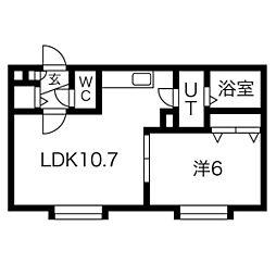 発寒中央駅 5.1万円