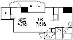 北海道札幌市西区琴似二条5丁目の賃貸マンションの間取り