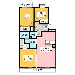 西斗[1階]の間取り