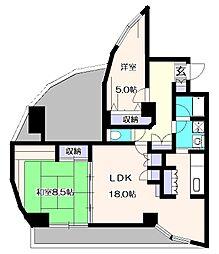 イーハトープ壱番館[6階]の間取り
