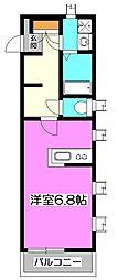 FUJISTA Neu's (フジスタノイス)[2階]の間取り