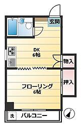メゾンSA[305号室]の間取り