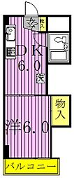 吉野沢マンション[205号室]の間取り