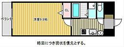 愛知県名古屋市千種区新池町4の賃貸マンションの間取り