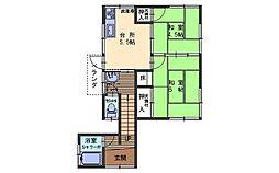 広島県呉市上平原町の賃貸アパートの外観