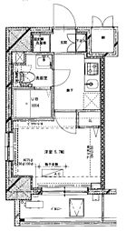 Etervo川崎大師[4階]の間取り