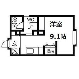 豊平公園駅 3.8万円
