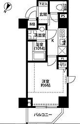 神奈川県横浜市南区二葉町3丁目の賃貸マンションの間取り